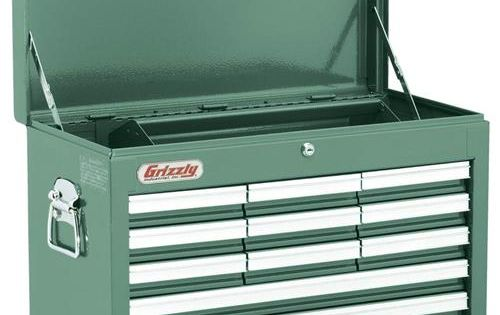 Shop Tools And Machinery At Grizzly Com Tool Chest Tool Drawers Grizzly Tools