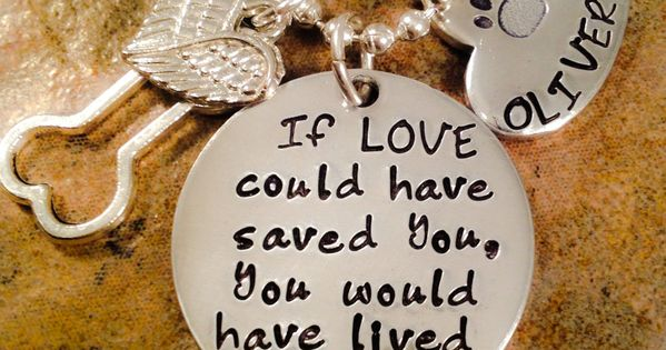 Pet Loss Necklace, Dog, Cat Loss Necklace, If Love Could Have Saved