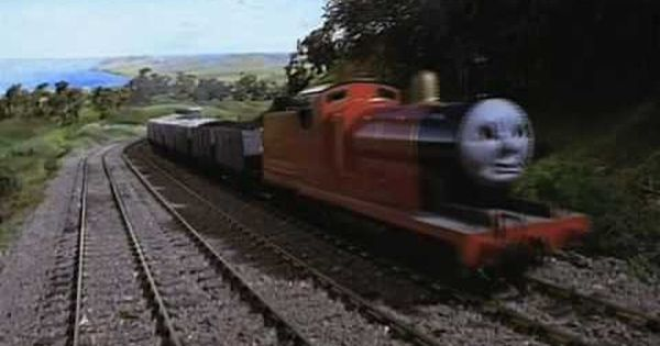 Trackmaster James In A Mess Youtube Thomas The Tank Engine Thomas The Tank Thomas And Friends