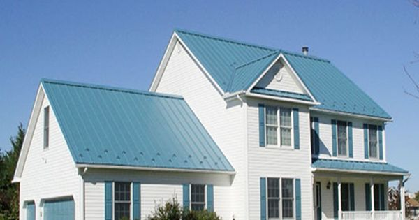 Metal roof color visualizer fabral 1 1 2 standing seam for Siding and roof color visualizer