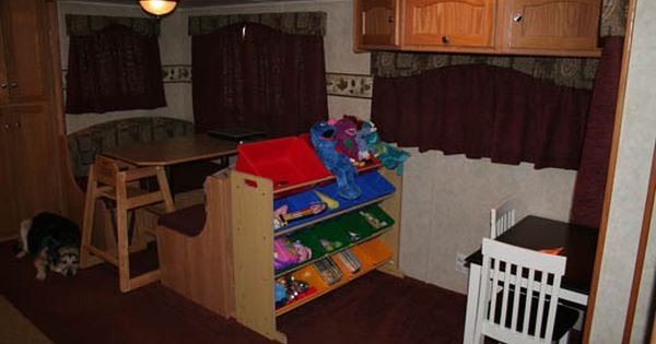 Rv High Chair Happy Campers Rv Living Camper Living