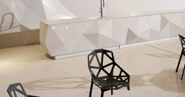Caesarstone at the international design exhibition 2014 for International decor surfaces