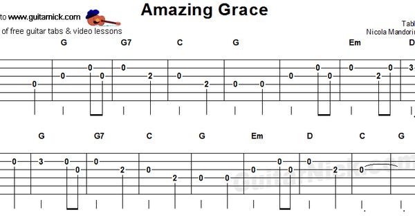 AMAZING GRACE Chords - Alan Jackson | E-Chords