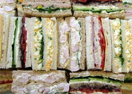 Ribbon sandwiches are perfect for corporate catering for Canape catering melbourne