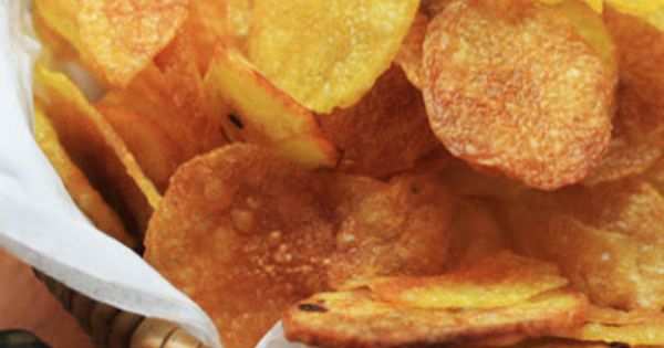 Homemade Potato Chip Recipe