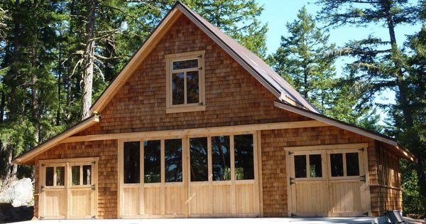A homeowner in victoria canada made this beautiful for Craftsman style shed plans