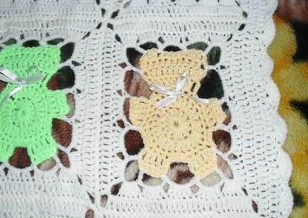 Free visual pattern Blanket, throw, afghan, lap, coverlet Crochet ...