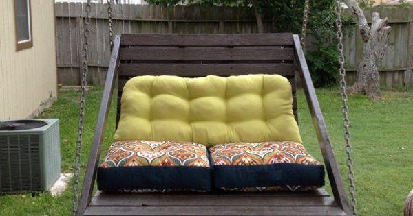gartenm bel kaufen aber nicht doch 15 bastelideen f r gartenm bel aus holzpaletten genial. Black Bedroom Furniture Sets. Home Design Ideas