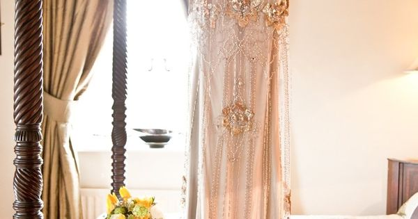 """Eden"" by Jenny Packham. Very glamorous wedding gown! Photography by jesspetrie.com"