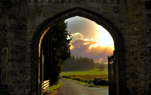 Castle Gate, Scotland. Travel. Places to Go: http://www.pinterest.com/newdirectionsbh/places-to-go/