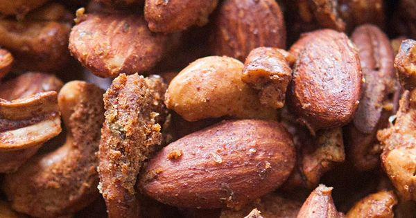 Chipotle-Lime Mixed Nuts ~ Mixed roasted nuts with a ...