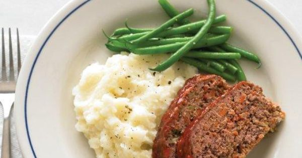 Meatloaf and Buttermilk Mashed Potatoes Recipe | Recipes | Pinterest ...