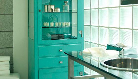 love the pop of color in the bathroom idea bathroom design bathroom
