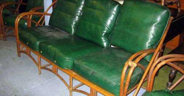 Heywood Wakefield Vintage Large Ratan Set Onekingslane Designisneverdone Selling Furniture Used Furniture For Sale Furniture