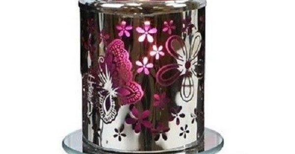 Butterfly Design Tart Oil Candle Electric Warmer Use W