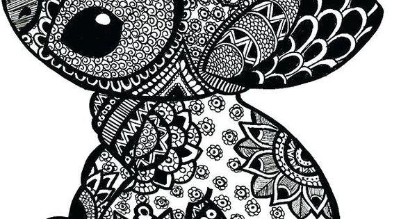 Coloriage Mandala Stitch.Coloriage Mandala Animaux A Imprimer Gratuit Coloriage