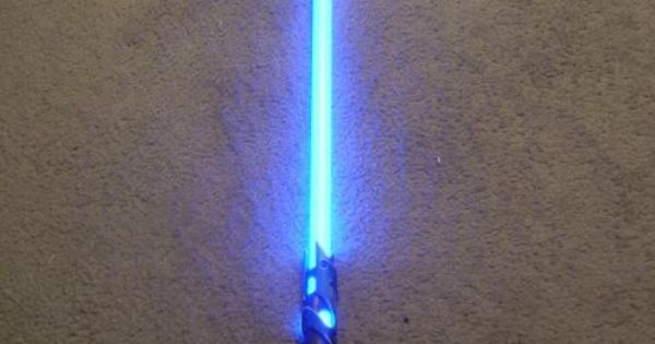 DIY PVC and fiberglass light saber instructions: I must make one for