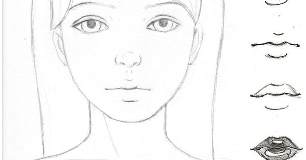 Learn to Draw Noses! Cute as a button in 4 Simple Steps ...