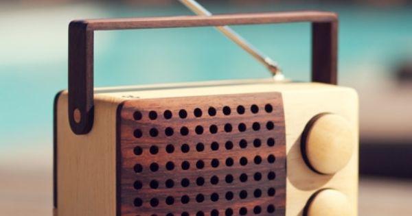 Cool retro Radio