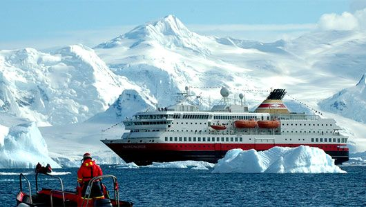 Set foot on all 5 continents - Antarctica cruise ship