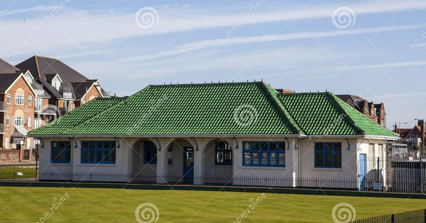 Best Green Roof Tiles Bowling Clubhouse With V*V*D Green 400 x 300