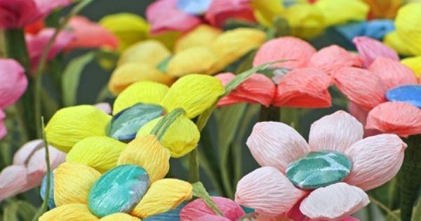 crepe paper flowers instructions
