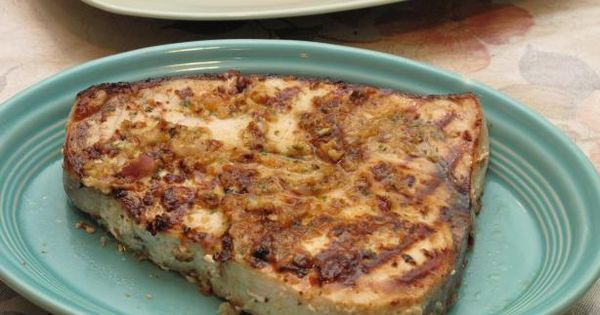 Grilled swordfish and Recipe on Pinterest