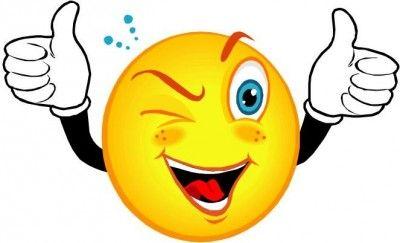 Daumen Hoch Smiley mit Bildern  Animierte emoticons Emoticon Smiley  glcklich
