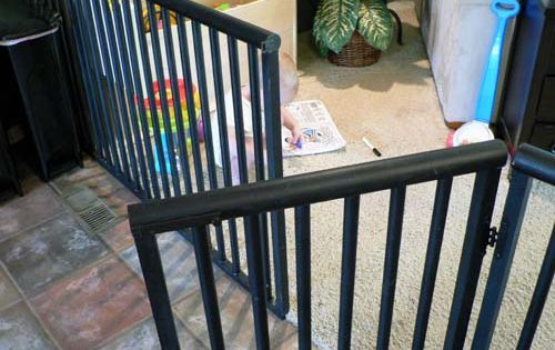 portable stair gate
