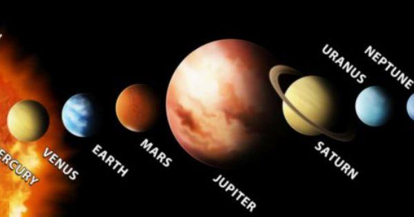 Poster Solar System Sun 9 Planet Mercury Venus Saturn Uranus Neptune  Print 05