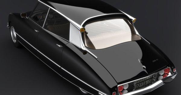 1966 Citroën DS21 - an achingly beautiful design.