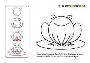 Come Disegnare Una Rana Disegno Rana Disegni Imparare A Disegnare