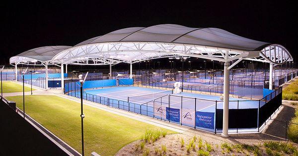 Queensland Tennis Center Tensile Structure Project Tennis Center Tensile Structures Membrane Structure