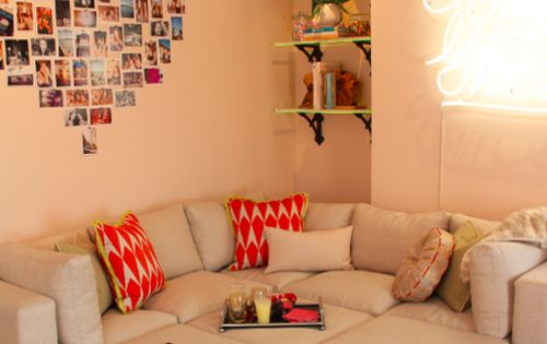 Hangout Room Similar To A Playroom For Kids But More For