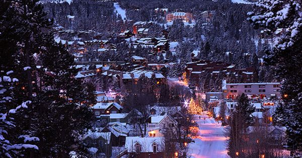 Winter's Night, Breckenridge, Colorado Beautiful Places Photography