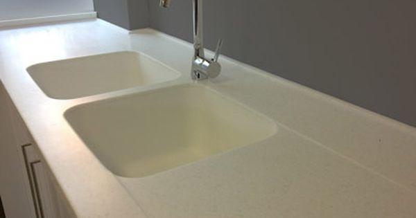 molded in sinks corian sink sink