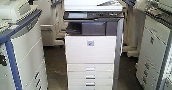 Sharp Mx 4101n Color Copier Mx4100n Mx 5001n Filing Cabinet