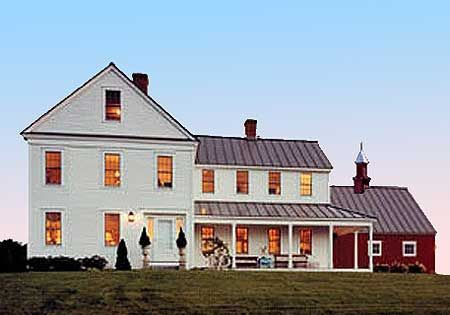 Historic Farmhouse Plans | Farm House Plans
