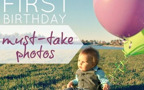 Baby's first birthday pictures :)