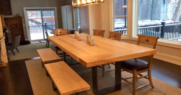 Contemporary Rustic Dining Tables Live Edge Tables Natural Slab