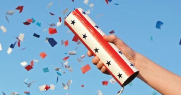 Craft Idea: Confetti Launchers for 4th of July Fun