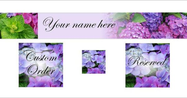 Etsy Banner Hydrangea Flowers By Newcreationz On Etsy 12 00 Etsy Banner Etsy Items Etsy Finds