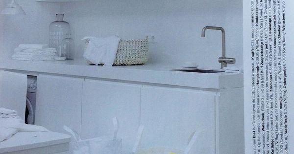 Waskamer of berging bijkeuken pinterest thuis interieur en voor het huis - Ideeen deco blijven ...