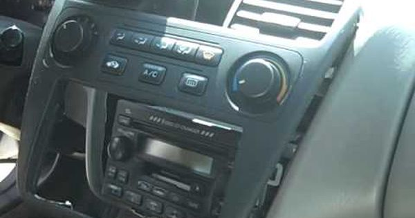 Honda Accord Car Stereo Removal And Repair 1998 2002 Honda Accord Car Stereo Honda