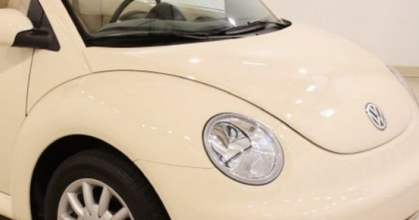 Off-White (cream colored) VW Beetle | miscellaneous | Pinterest | Vw beetles, Beetles and Cars
