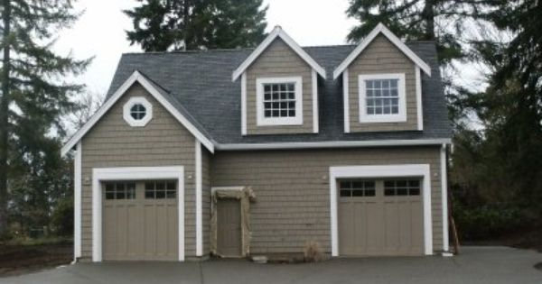 Signature custom homes detached shop garage with for Custom garages with living quarters