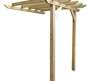 Details About 3 6m X 1 8m Lean To Garden Pergola New Various Post Lengths Available With Images Timber Pergola Pergola Wooden Pergola