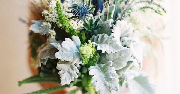 2014 Wedding Trends | Blue Weddings | Beautiful green   blue bouquet