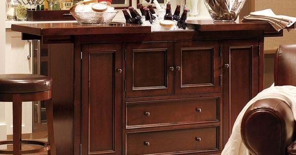 Pottery Barn Torrens Bar Cabinet Home Decor Pinterest