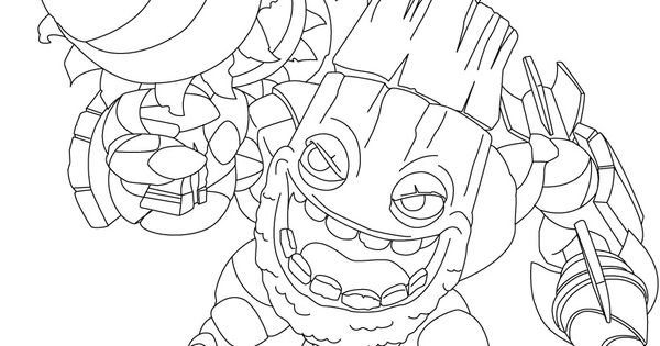 skylanders coloring pages ignitor pertronix - photo#35
